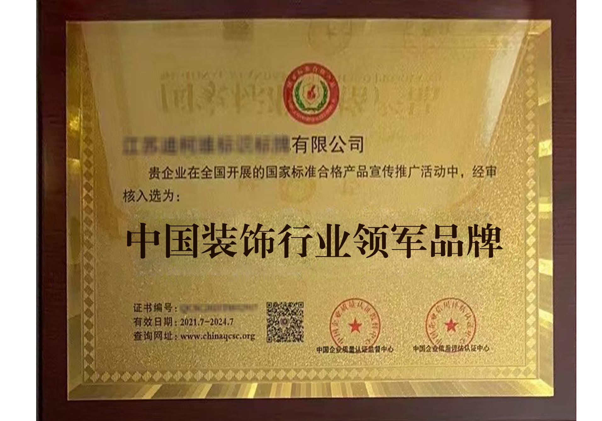 中国 XX 行业领军品牌